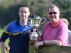 Tipperary Town FC  chairman John Mac Evoy and secretary Mark O Brien